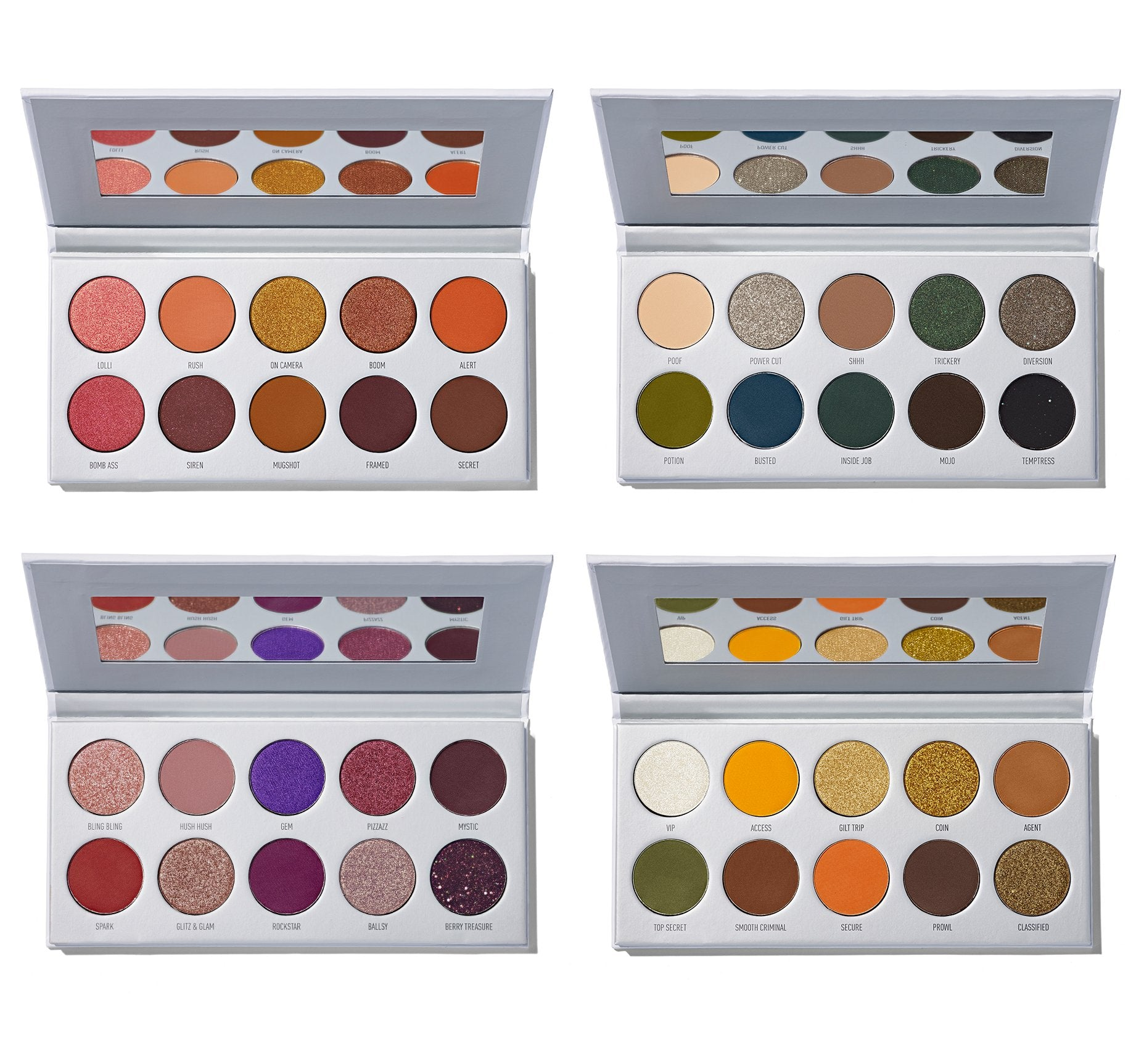 JACLYN HILL EYESHADOW PALETTE COLLECTION, view larger image