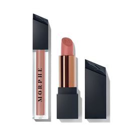 OUT & A POUT FLIRTY NUDE LIP DUO