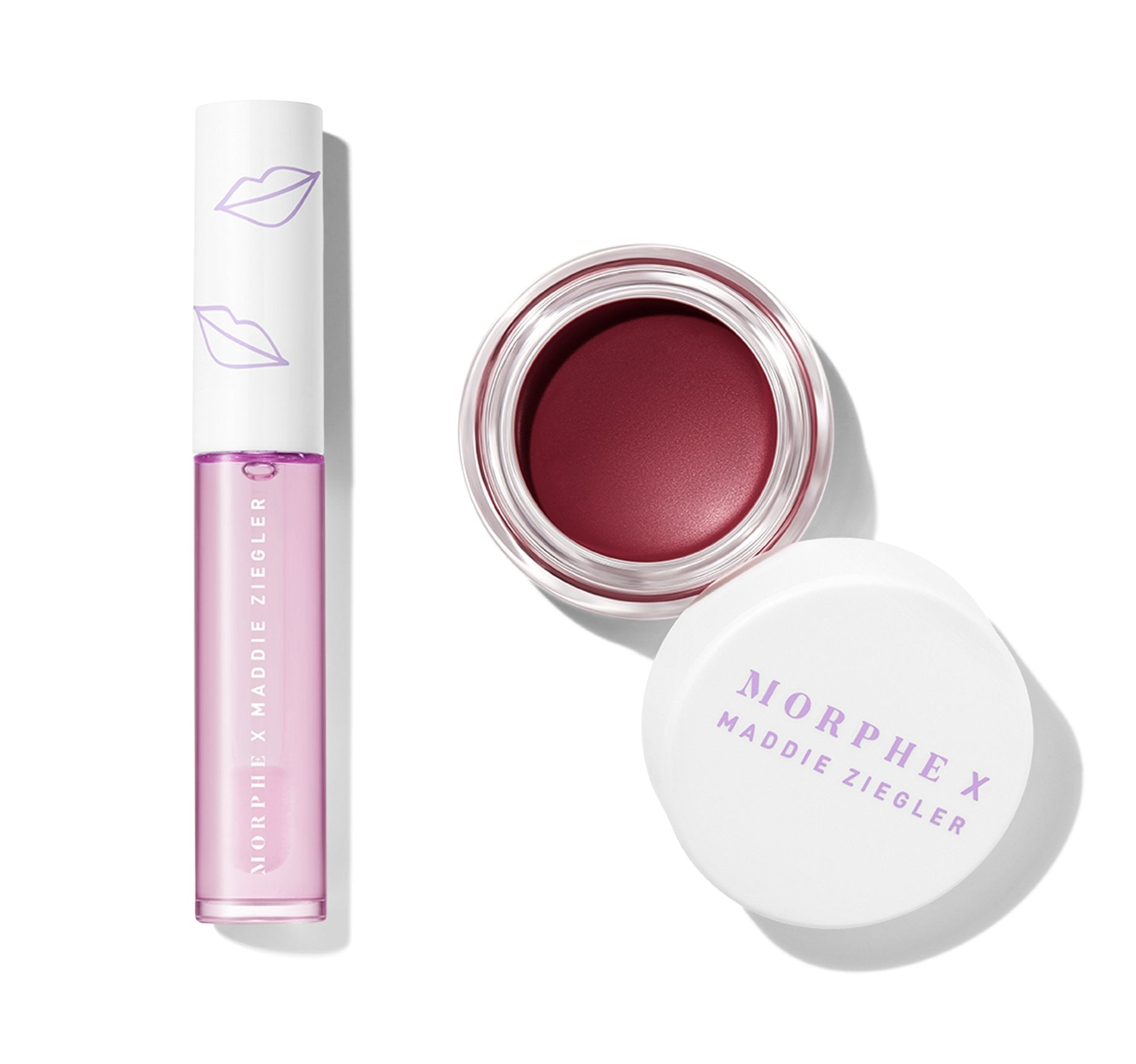 MORPHE X MADDIE ZIEGLER OH SO BERRY LIP & CHEEK DUO , view larger image