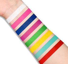 HYPER COLOR SFX PALETTE ARM SWATCHES