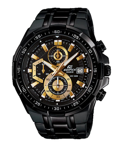 Chronograph Black Chain Gents Wrist Watch