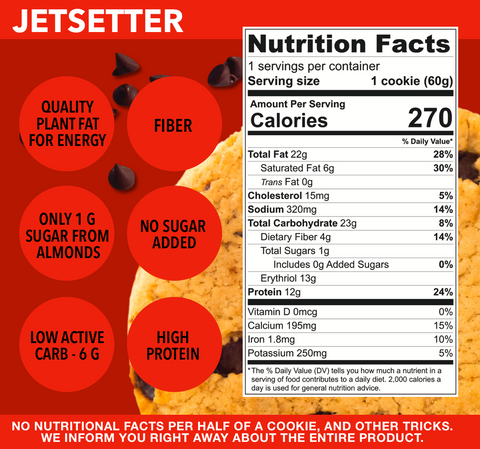 Jetsetter by UltraVain. Body skin food. No BS. Protein. Fiber. All natural.