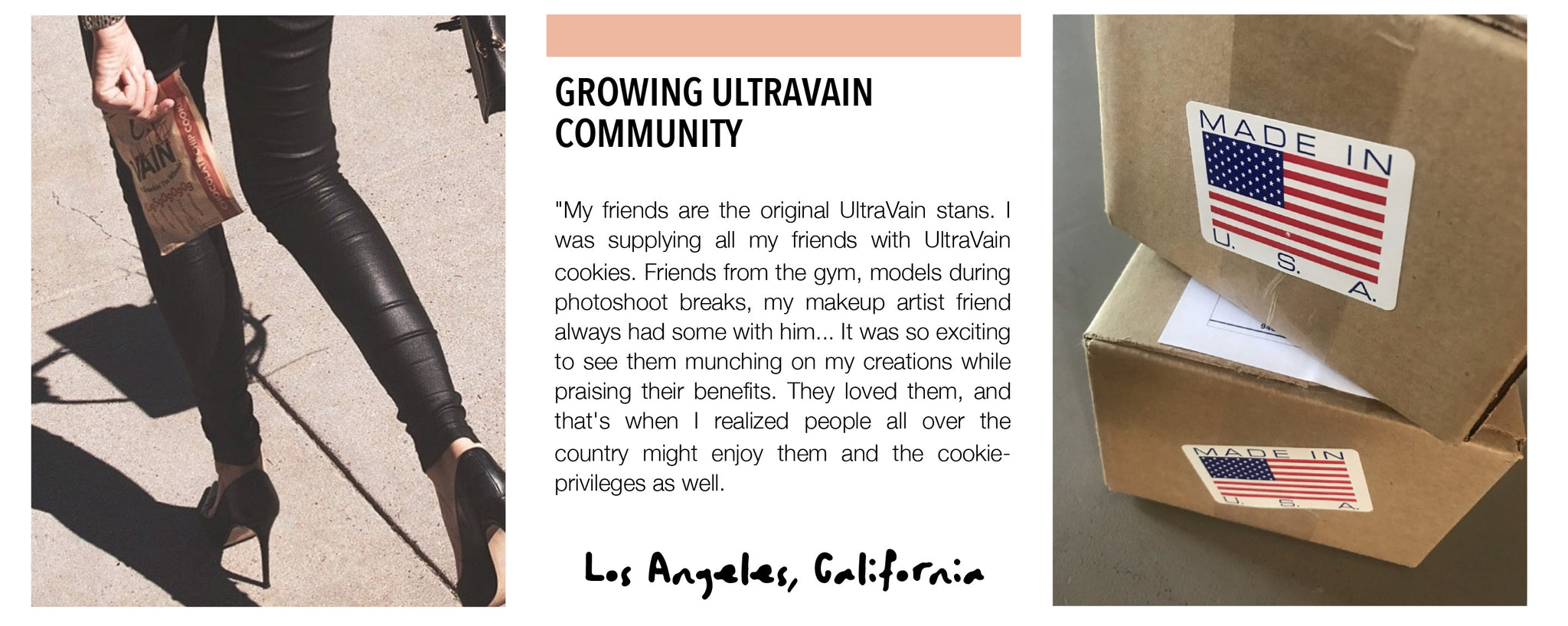 """My friends are the original UltraVain stans. I was supplying all my friends with UltraVain cookies."