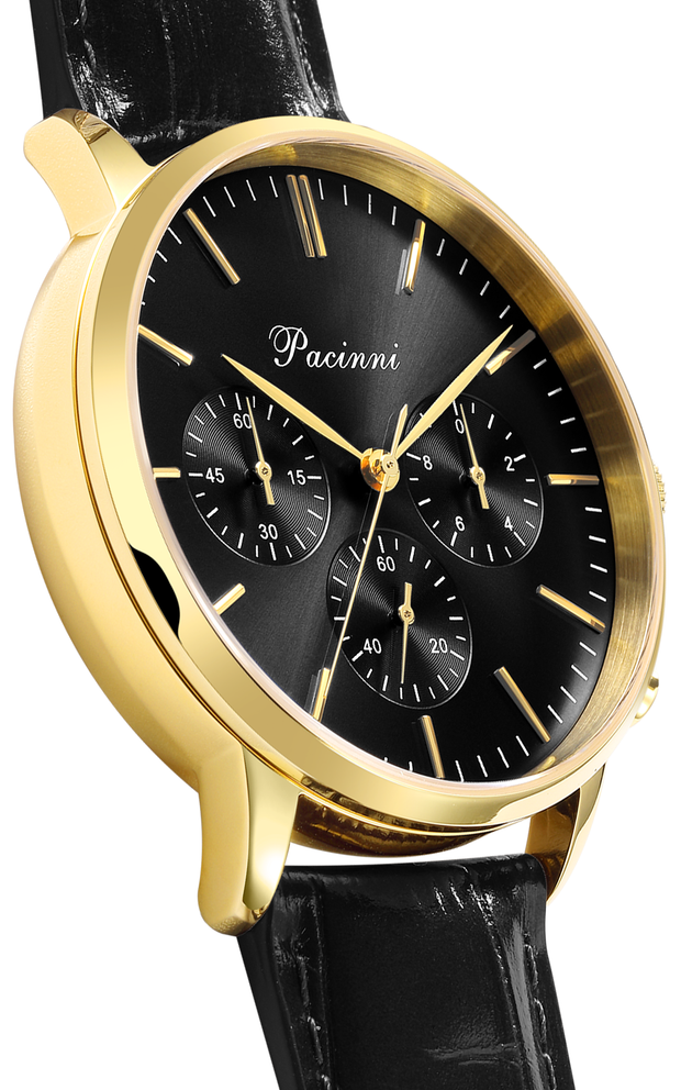 Chronograph Black Gold