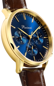 Chronograph Blue Gold