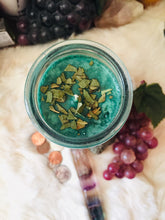 Load image into Gallery viewer, MONEY Ritual Candle ~ 7 Day Fixed Candle ~ Abundance ~ Prosperity ~ Heal Relationship with Money