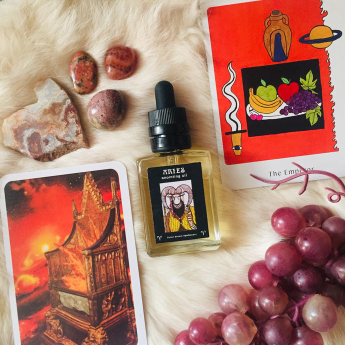 ARIES Anointing Oil ~ Emperor ~ Mars Energy