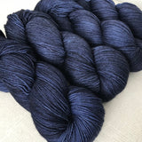 TWILIGHT // Hand Dyed Yarn // Tonal Yarn