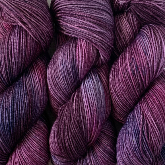 BLACKBERRY // Hand Dyed Yarn // Variegated Yarn