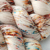 SPICED LATTE // Hand Dyed Yarn // Variegated Yarn