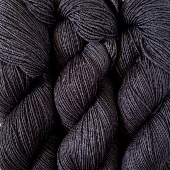 WROUGHT IRON // Hand Dyed Yarn // Tonal Yarn