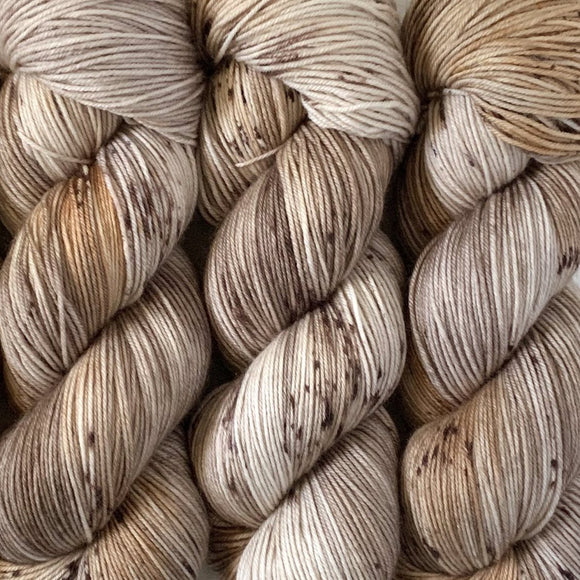 WHISKERS // Hand Dyed Yarn // Speckle Yarn