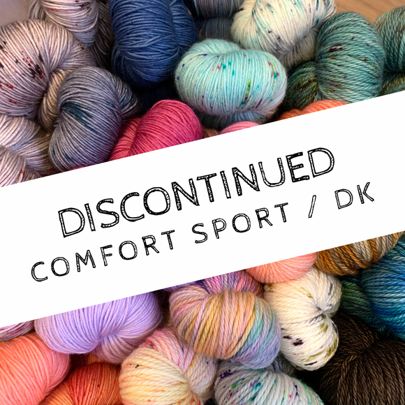 DISCONTINUED COLOURWAYS - Comfort Sport/DK