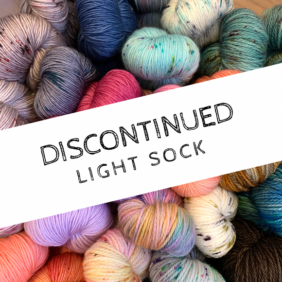 DISCONTINUED COLOURWAYS - Light Sock