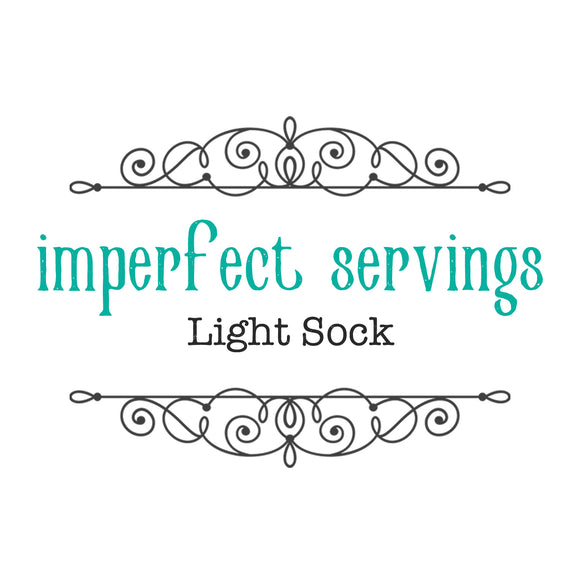 IMPERFECT SERVINGS - Light Sock