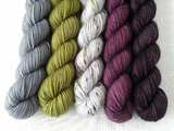 TAPAS BAR // Bite-Size Mini Set of 5 // Hand Dyed Yarn