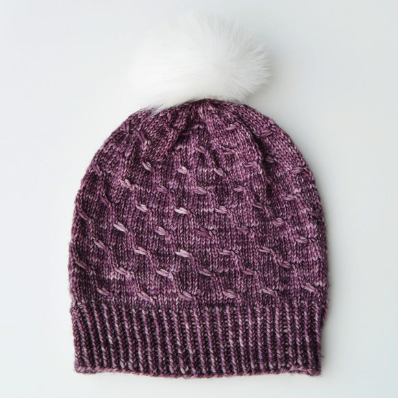 WINTER WHEAT BEANIE - Digital Knitting Pattern
