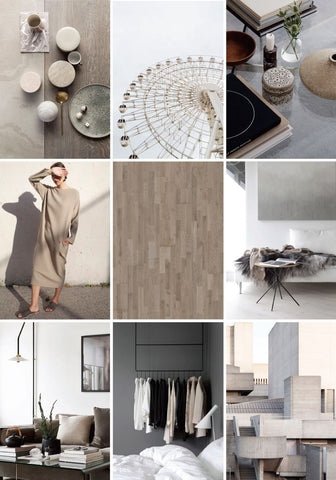 Minimalist Decor Mood Board