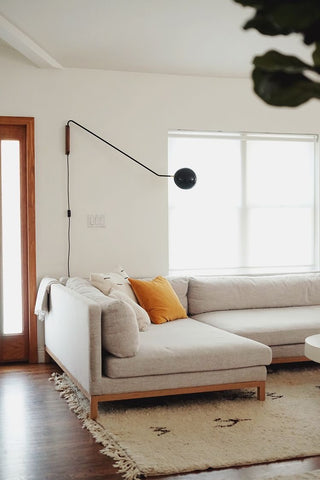 Minimalist Bright Living Room