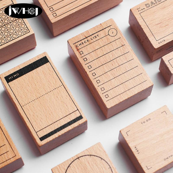 1 PC Calendar Wood Stamp-Eurecah