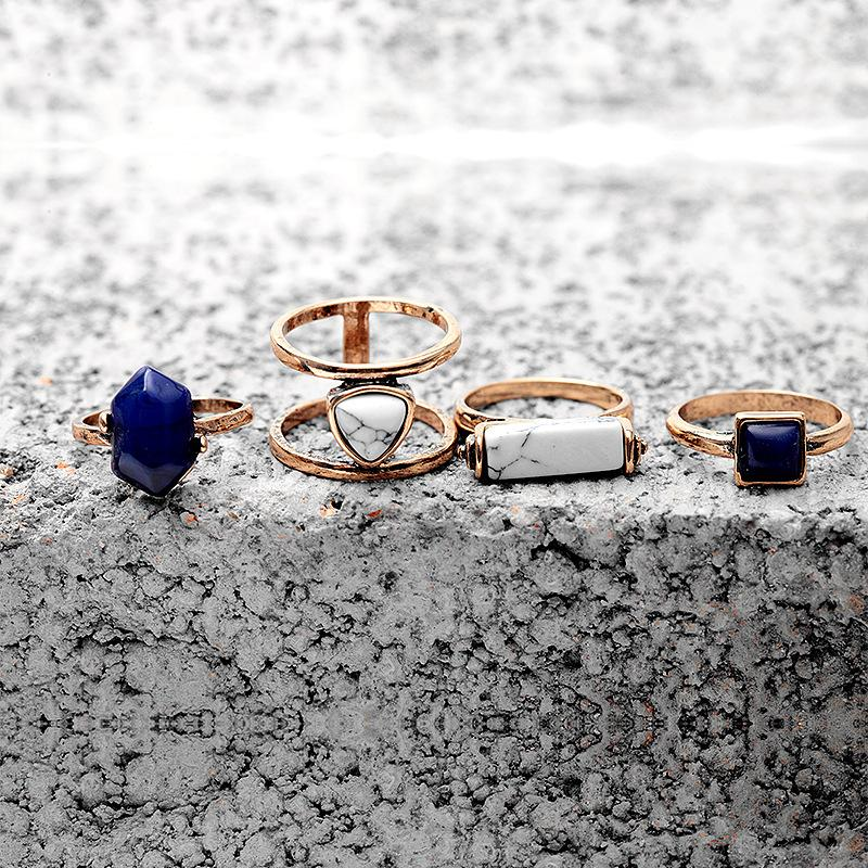 4 PCS Ring Stone Set-Eurecah