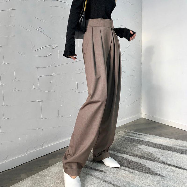 Loose High Waisted Pants