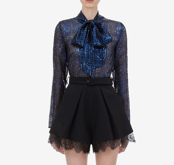 Party Bow-Tie Blouse