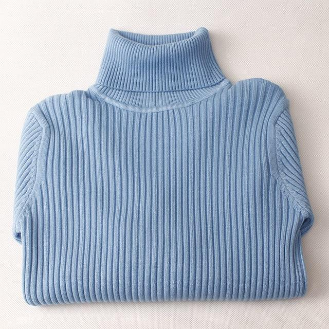 Women Ribbed Turtleneck-Eurecah