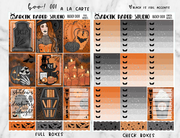 A la Carte Kit - Boo! 001
