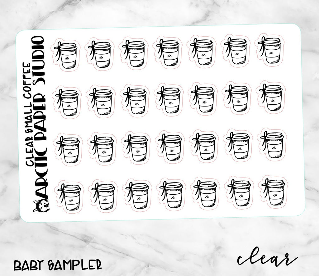 *CLEAR* Small Icons - COFFEE CUP