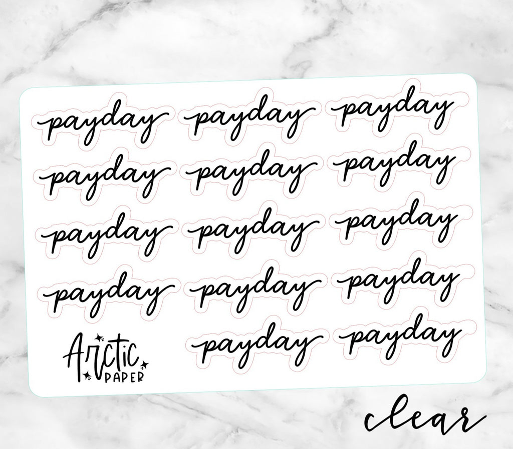 *CLEAR*  Payday (CE)