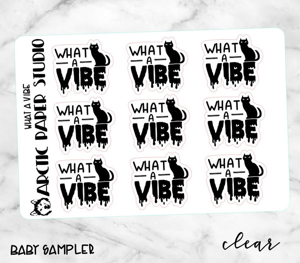 *CLEAR* GOTH - WHAT A VIBE