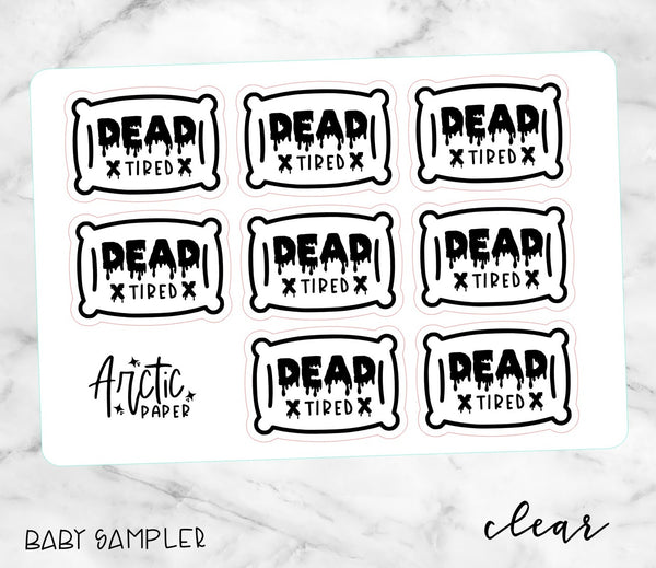 *CLEAR* GOTH - DEAD TIRED