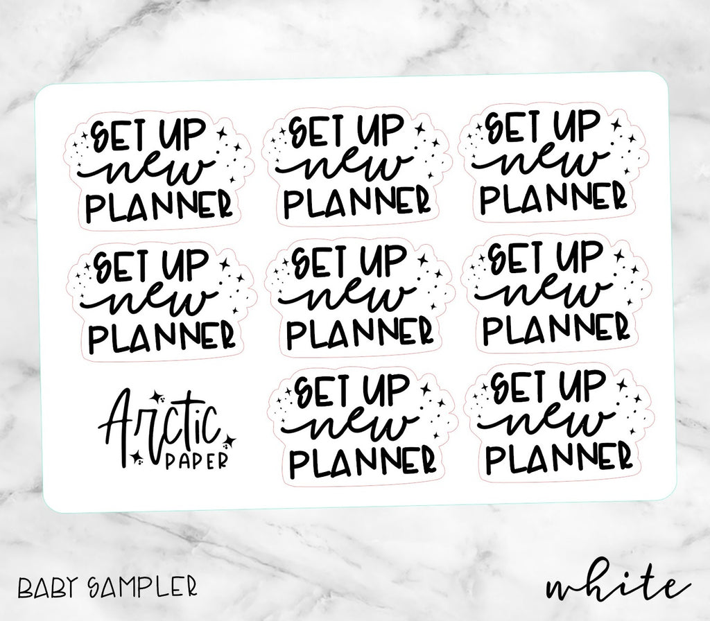 Set up New Planner