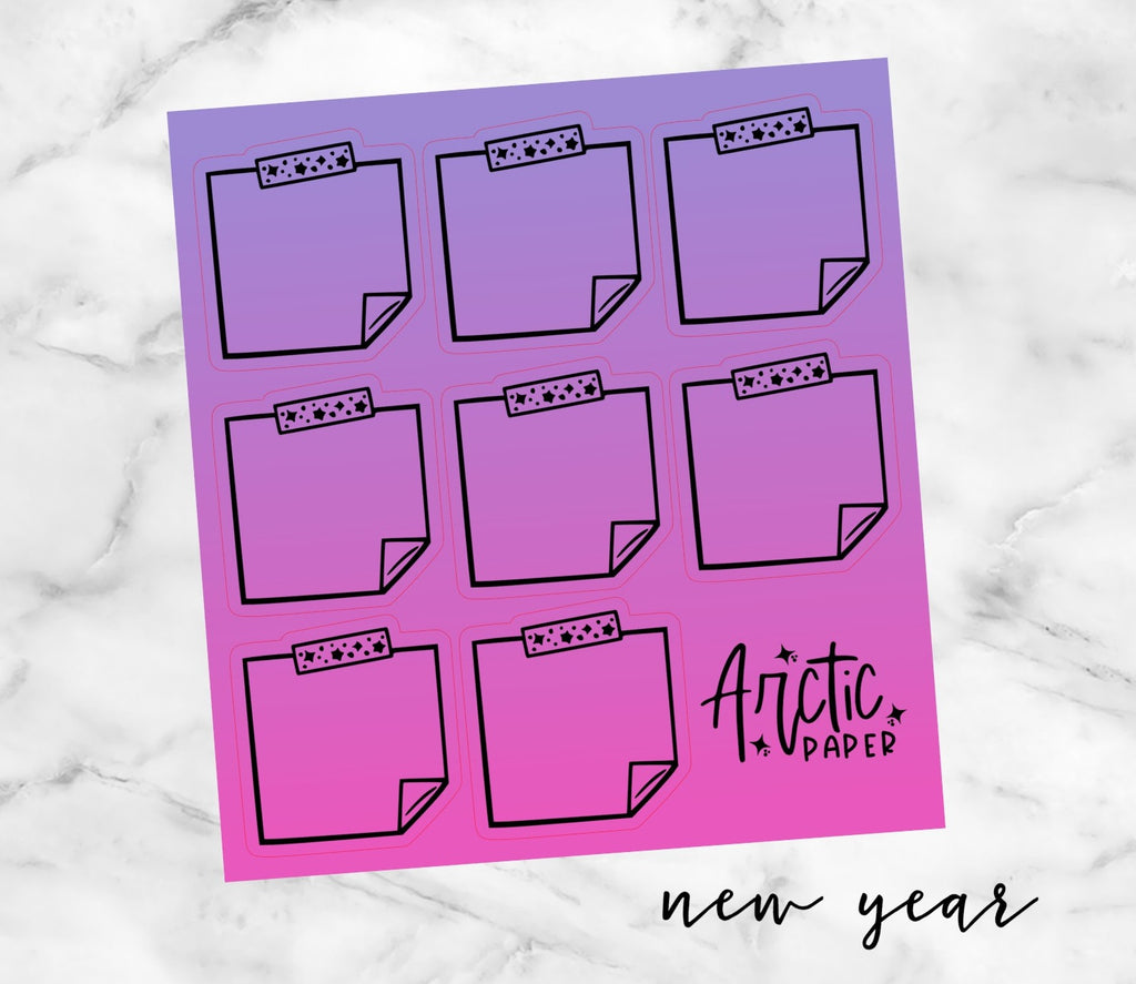 Sticky Notes - New Year