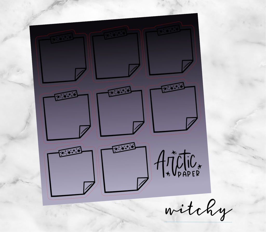 Sticky Notes - Witchy