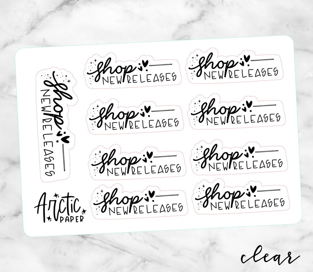 *CLEAR* Shop New Releases (EL)