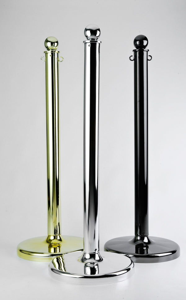 Metal Plated Stanchions