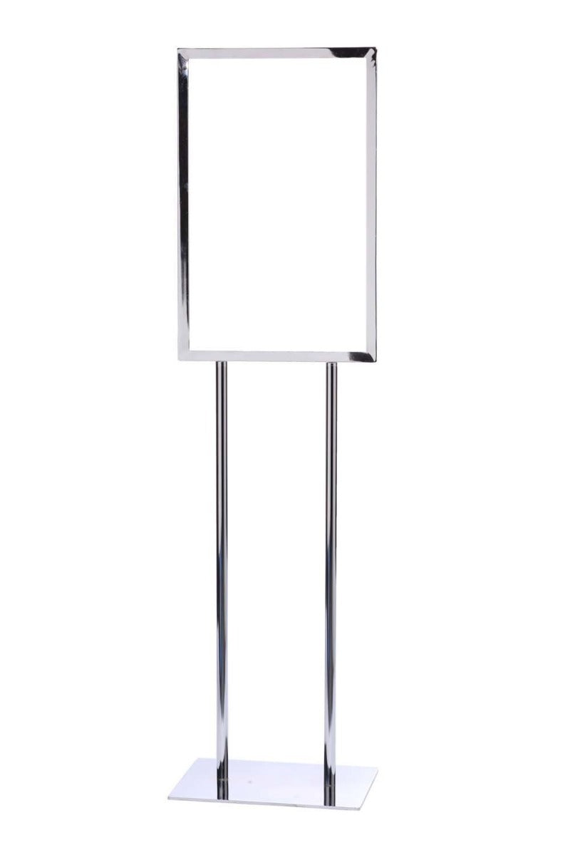 Crowd Control 14 x 22 Single Frame Poster Stand - TheCrowdController.com