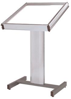 "22"" x 28"" Directrac Podium Display Stand - The Crowd Controller"