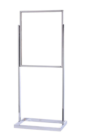 22 x 28 Single Frame Tube Base Poster Stand - The Crowd Controller