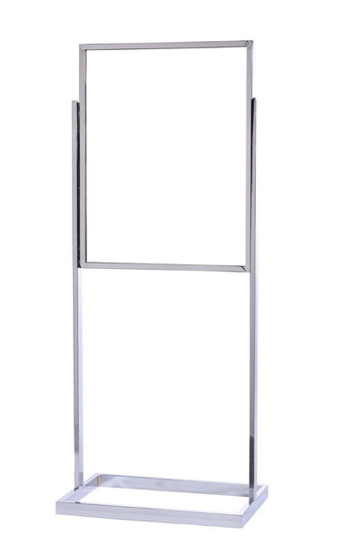 Crowd Control 22 x 28 Single Frame Tube Base Poster Stand - TheCrowdController.com