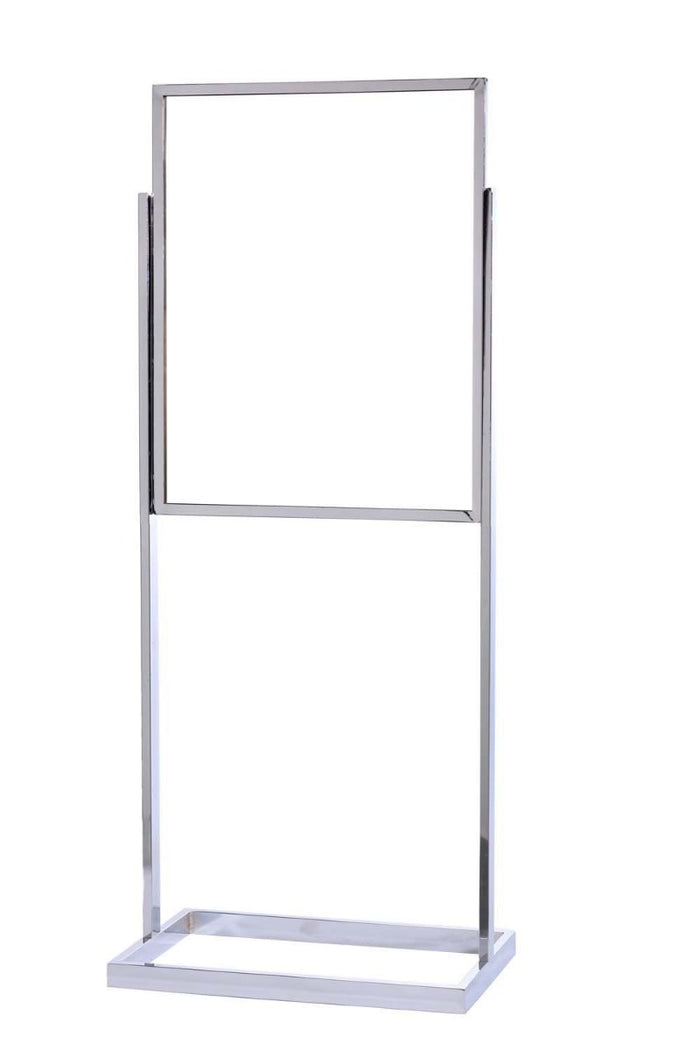 22 x 28 Single Frame Tube Base Poster Stand