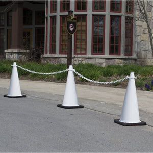 "Crowd Control 36"" Traffic Cone and Chain Connector Kit - TheCrowdController.com"