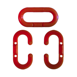 "Crowd Control 5"" Master Link (Pack) For Plastic Barrier Stanchions- TheCrowdController.com"
