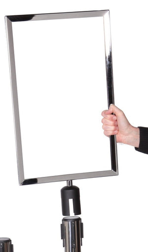 6FT Sign Stand - The Crowd Controller