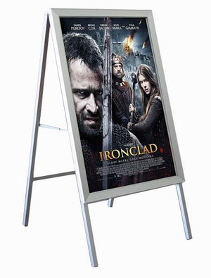 'A' Frame Poster Stand - The Crowd Controller