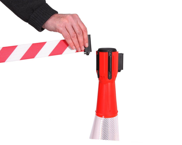 Barriers Stanchions ConePro 500 Length Barriers- TheCrowdController.com