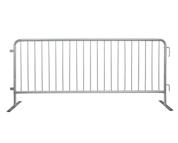 Crowd Control Barrier Stanchions CrowdMaster™ 1000 Flat Feet Barricade- TheCrowdController.com