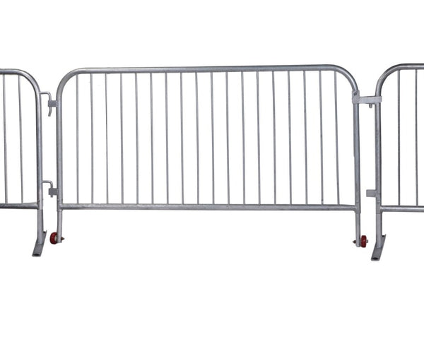 Crowd Control Barrier Stanchions CrowdMaster™ Barricade Long Gate - TheCrowdController.com